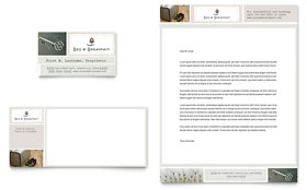Bed & Breakfast Motel - Business Card & Letterhead