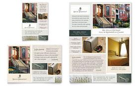 Bed & Breakfast Motel - Flyer & Ad Template