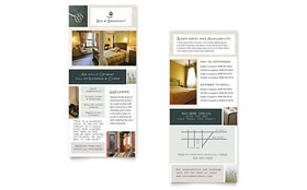 Bed & Breakfast Motel - Rack Card Template