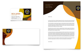 African Safari - Business Card & Letterhead Template Design Sample