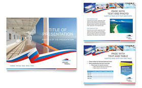 Cruise Travel - PowerPoint Presentation Sample Template