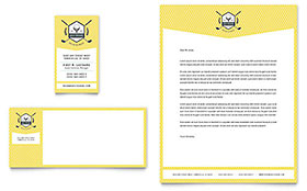 Golf Resort - Business Card & Letterhead Template