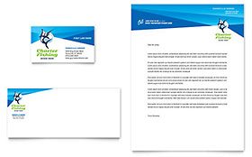 Fishing Charter & Guide - Letterhead Template