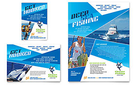 Fishing Charter & Guide Flyer & Ad