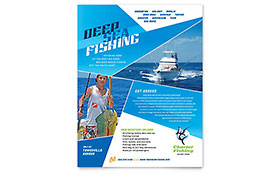 Fishing Charter & Guide - Flyer Template