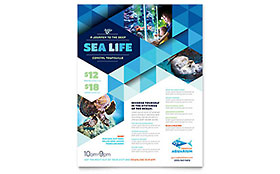 Ocean Aquarium - Flyer Template