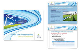 Renewable Energy Consulting - Microsoft PowerPoint Template