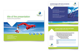 Green Living & Recycling - PowerPoint Presentation Template