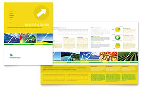 Environmental Conservation - Desktop Publishing Brochure Template