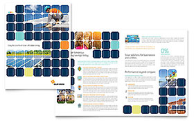 Solar Energy - Apple iWork Pages Brochure Template
