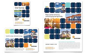 Solar Energy - Print Ad Template