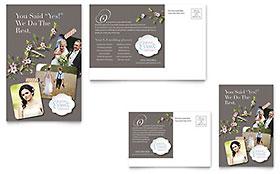 Wedding Planner - Postcard Template