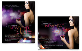New Year Celebration - Poster Template