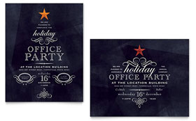 Office Holiday Party - Poster