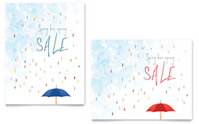 Rainy Day - Poster Sample Template