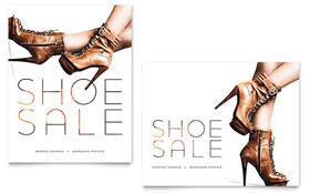 Designer Shoes - Sale Poster Template