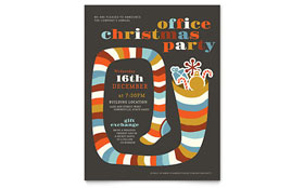 Christmas Party - Flyer Template