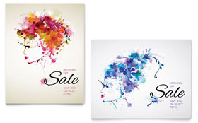 Mother's Day - Sale Poster Template