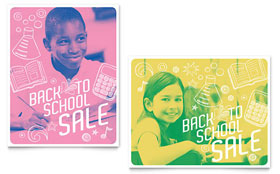 Back 2 School - Poster Template