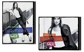Labor Day Fashion - Poster Sample Template