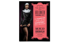 Halloween Costume Party - Flyer Template