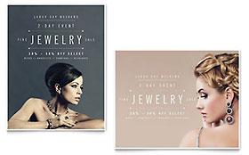 Fine Jewelry - Sale Poster Template
