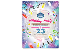 Holiday Party - Flyer Template